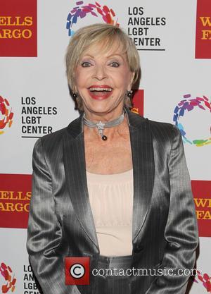 Florence Henderson - 45th Anniversary Gala Vanguard Awards at Hyatt Century City Plaza - Arrivals at Hyatt Regency Century Plaza...