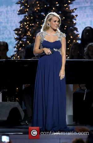 Carrie Underwood - 2014 CMA Country Christmas at Bridgestone Arena - Performances at Bridgestone Arena - Nashville, Tennessee, United States...