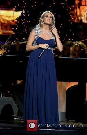 Carrie Underwood - 2014 CMA Country Christmas at Bridgestone Arena - Performances at Bridgestone Arena - Nashville, Tennessee, United States...