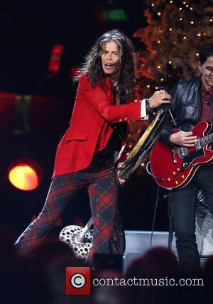 Steven Tyler - 2014 CMA Country Christmas at Bridgestone Arena - Performances at Bridgestone Arena - Nashville, Tennessee, United States...