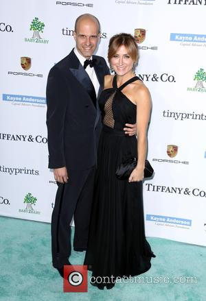 Edoardo Ponti and Sasha Alexander - A variety of stars were photographed as they arrived at the 2014 Gala held...