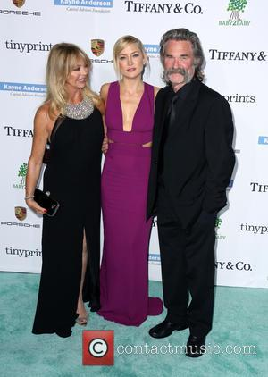 Goldie Hawn, Kate Hudson and Kurt Russell