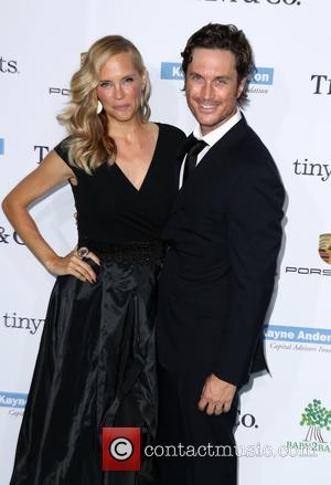 Oliver Hudson and Erinn Bartlett - A variety of stars were photographed as they arrived at the 2014 Gala held...