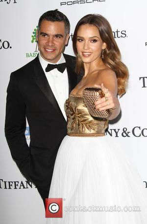 Jessica Alba and husband Cash Warren - A variety of stars were photographed as they arrived at the 2014 Gala...