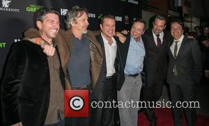 Marc Joubert, Peter Farrelly, Matt Damon, Bobby Farrelly, Ben Affleck and Len Amato