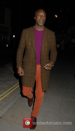 Ozwald Boateng - Celebrities at Chiltern Firehouse restaurant in Marylebone - London, United Kingdom - Sunday 9th November 2014