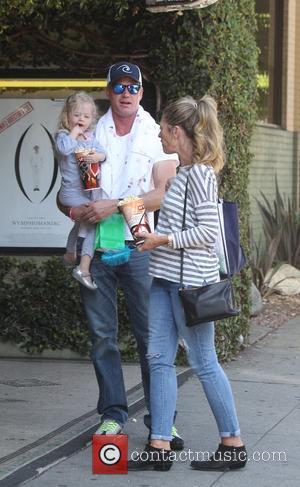Eric Dane, Rebecca Gayheart and Billie Beatrice Dane