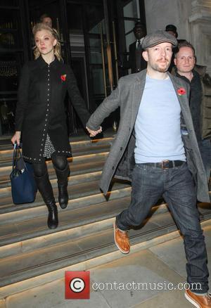 Natalie Dormer and Anthony Byrne - Natalie Dormer and partner Anthony Byrne leaving their hotel - London, United Kingdom -...