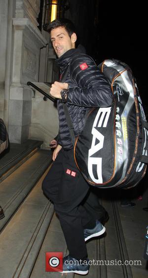 Novak Djokovic - Men's world number 1 tennis player Novak Djokovic arriving at his hotel - London, United Kingdom -...