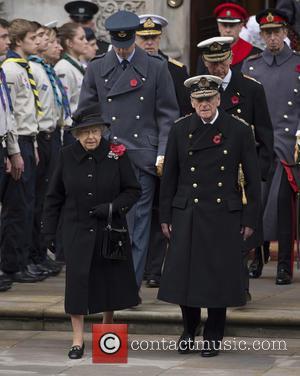 Hrh Queen Elizabeth Ii and Prince Philip Duke Of Edinburgh