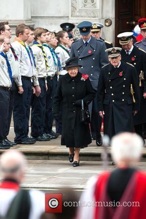 Queen Elizabeth Ii, Prince William, The Duke Of Cambridge, Prince Philip and The Duke Of Edinburgh