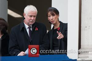 Samantha Cameron - Photographs from the Remembrance Sunday service held at the Cenotaph to remember those brave men and women...