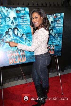 Omarosa Manigault - Snaps from the red carpet ahead of the Premiere of comedy thriller 'Knock 'em Dead' which was...