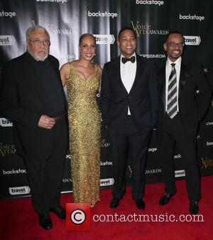 James Earl Jones, Joan Baker, Don Lemon and Rudy Gaskins
