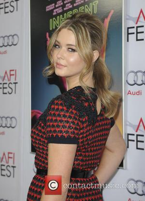 Sasha Pieterse - AFI FEST 2014  Premiere Of Inherent Vice - Los Angeles, California, United States - Sunday 9th...