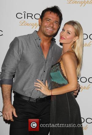 Romain Zago and Joanna Krupa - Premium vodka manufacturer Ciroc Pineapple hosted American rapper French Montana's birthday party which was...