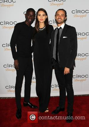 Shay Oday, Christina Schick and Eric Espensen - Premium vodka manufacturer Ciroc Pineapple hosted American rapper French Montana's birthday party...