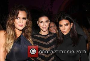 Khloé Kardashian, Shiva Safai and Kim Kardashian - Ciroc Pineapple hosts French Montana's birthday party celebration - Inside at Private...