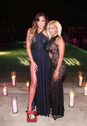Khloé Kardashian and Zoe Yang