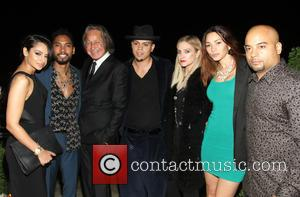 Miguel Jontel Pimentel, Mohammed Hadid, Evan Ross, Ashlee Simpson and Guests