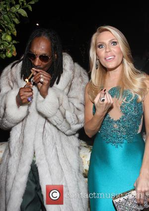 Snoop Lion, Snoop Dogg and Gretchen Rossi - Ciroc Pineapple hosts French Montana's birthday party celebration - Inside at Private...