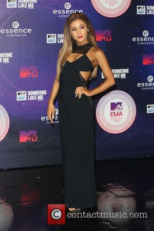 Ariana Grande - A variety if A-Listers from the music industry were photographed as they arrived at the MTV European...