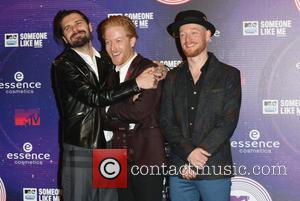 Biffy Clyro - A variety if A-Listers from the music industry were photographed as they arrived at the MTV European...