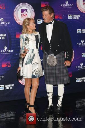 David Hasselhoff and Hayley Roberts