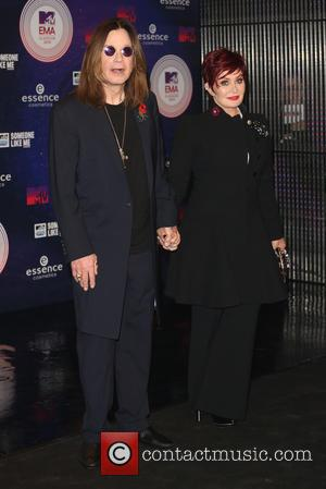 Ozzy Osbourne and Sharon Osbourne - MTV EMA Awards 2014 held at the The Hydro - Arrivals - Glasgow, Scotland,...