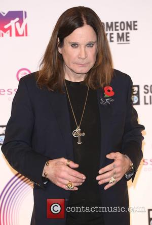 Ozzy Osbourne - A variety if A-Listers from the music industry were photographed as they arrived at the MTV European...