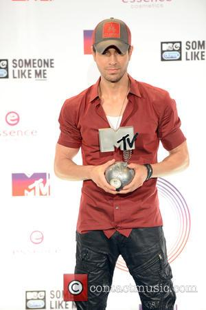 Enrique Iglesias - A variety if A-Listers from the music industry were photographed as they arrived at the MTV European...