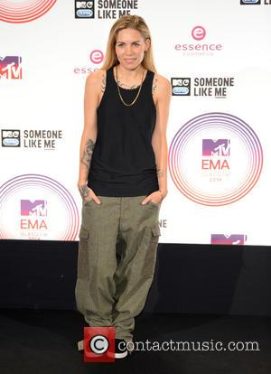 Skylar Grey - A variety if A-Listers from the music industry were photographed as they arrived at the MTV European...