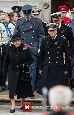 Queen Elizabeth Ii, Prince Philip, The Duke Of Edinburgh, Prince William and The Duke Of Cambridge