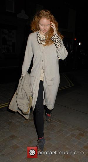 Lily Cole - Celebrities at Chiltern Firehouse restaurant in Marylebone - London, United Kingdom - Monday 10th November 2014