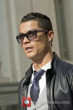 Cristiano Ronaldo - Real Madrid's Portuguese striker Cristiano Ronaldo receives the 'Pichichi' Award  at the Marca Newspaper Awards held...