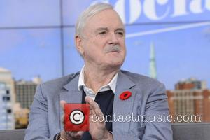 John Cleese - John Cleese appears on CTV's 'The Social' to promote his latest autobiography 'So, Anyway...' - Toronto, Canada...