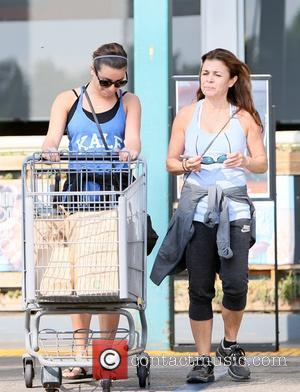 Lea Michele and Edith Sarfati