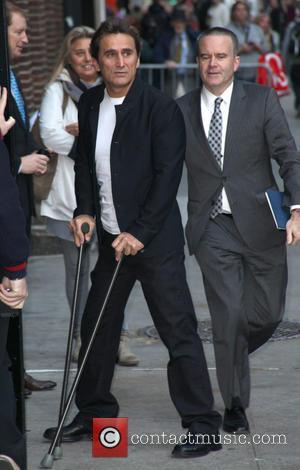 David Letterman and Alex Zanardi