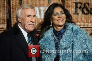 Bruce Forsyth and Wilnelia Merced - Skate at Somerset House VIP launch - Arrivals. at Somerset House - London, United...