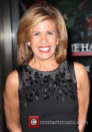 Hoda Kotb - Shots of a variety of stars as they arrived outside the Glamour Women of The Year Awards...