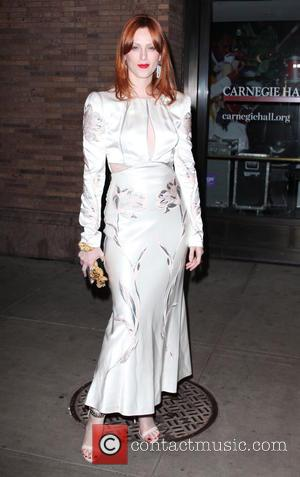 Karen Elson - Shots of a variety of stars as they arrived outside the Glamour Women of The Year Awards...