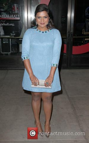 Mindy Kaling - Shots of a variety of stars as they arrived outside the Glamour Women of The Year Awards...