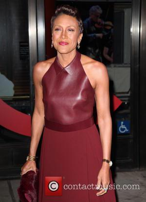 Robin Roberts - Shots of a variety of stars as they arrived outside the Glamour Women of The Year Awards...