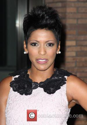 Tamron Hall - Shots of a variety of stars as they arrived outside the Glamour Women of The Year Awards...