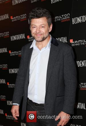 Andy Serkis - Stars were photographed as they arrived at the 2014 Hamilton Behind The Camera Awards which was held...