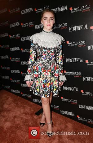 Kiernan Shipka - Stars were photographed as they arrived at the 2014 Hamilton Behind The Camera Awards which was held...