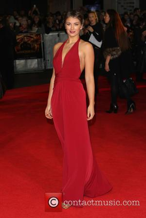 Amy Willerton - 'Shots from the red carpet ahead of the world premiere of the latest film in the Hunger...