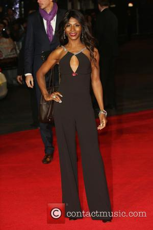 Sinitta - 'Shots from the red carpet ahead of the world premiere of the latest film in the Hunger Games...