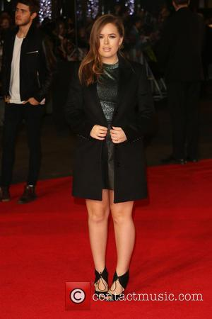 Tanya Burr - 'Shots from the red carpet ahead of the world premiere of the latest film in the Hunger...