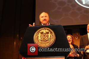 Louis C.K - Photographs from the Made in NY Awards ceremony as a variety of celebrities arrived at Weylin B....